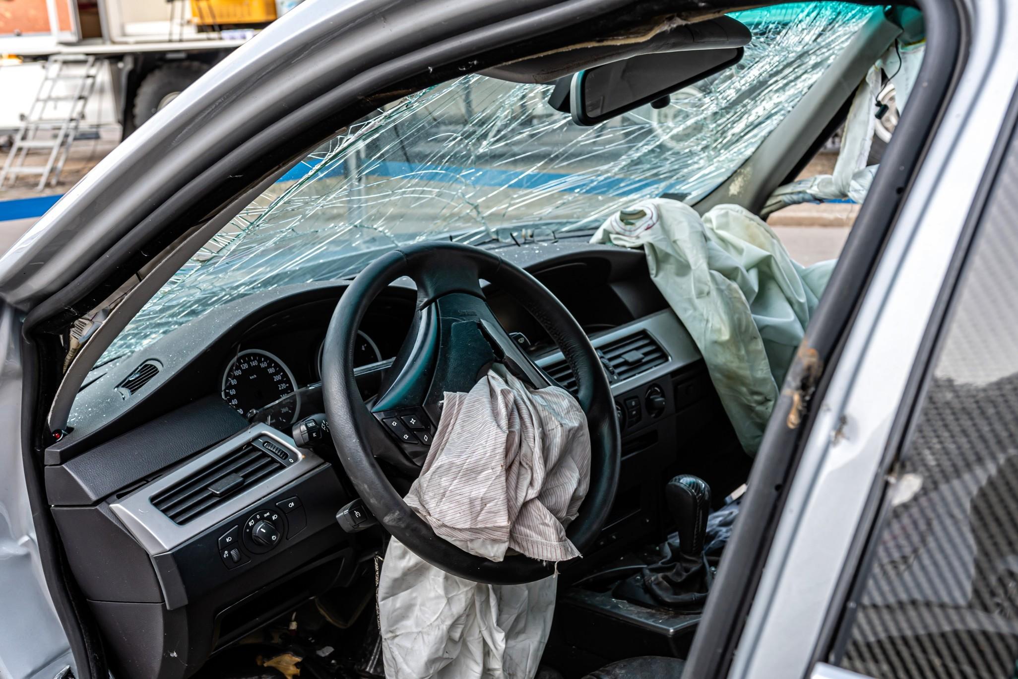 Les démarches à effectuer lors d'un accident de voiture.